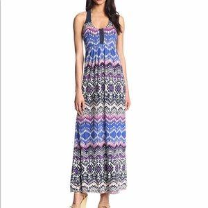 Lucky Brand Women's Printed Maxi Dress